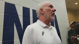 San Antonio Spurs Coach Gregg Popovich On Dr. Martin Luther King Jr. And The State of The Country
