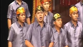 Vox Angelica Male Choir - Manado (All That Hath Life) - Bali International Choir Competition 2012