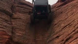 Amazing car climbing impossible road