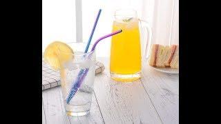 Aperil Extra Long Reusable Metal Drinking Straws