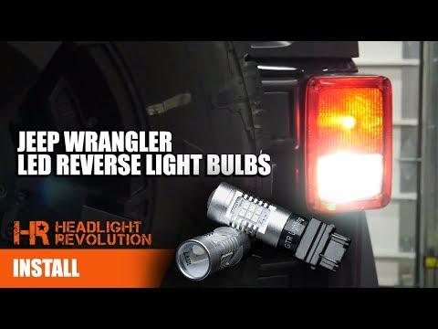 LED Tail Light Rear Lights Brake Reverse Turn Signal Jeep Wrangler JK 2007-2018