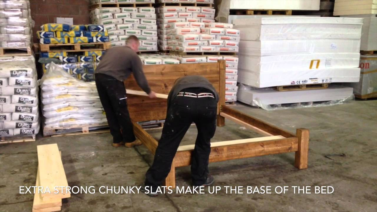 Funky Chunky Furniture Ultimate Wood Bed Frame Youtube