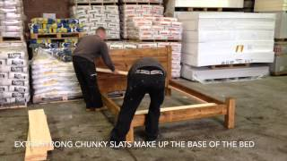 Funky Chunky Furniture Ultimate Wood Bed Frame