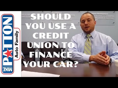 Ask The Dealer: Should You Use A Credit Union When Buying And Financing A Car? #abetterplacetobuy