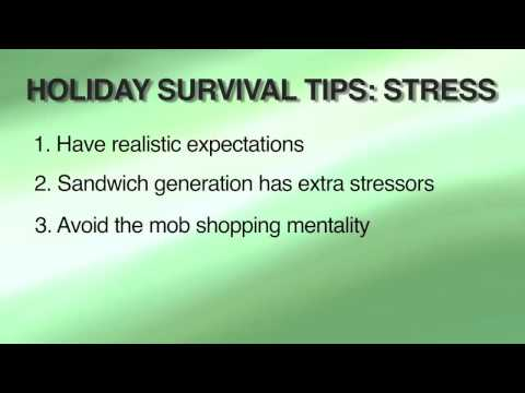 Holiday Stress Survival Guide From Uab News