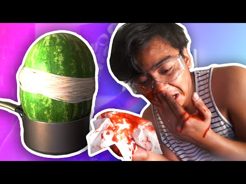 Thumbnail: EXPLODING WATERMELON CHALLENGE! (EXTREME)