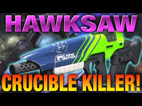 Destiny - HAWKSAW Review - Best PVP Pulse Rifle In Destiny!?!