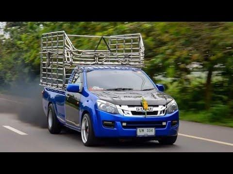 Ep.381 อาชีพหลังถนน รถกระบะบรรทุก รถคอกซิ่ง วิ่งหาเงิน รถรั้ว กระบะตอนเดียวแต่ง เพลาลอย -#เพลงแดนซ์