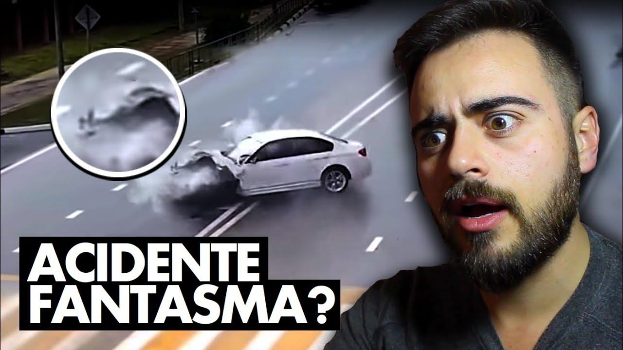 ACIDENTE FANTASMA: CARROS BATERAM EM ALGO SOBRENATURAL?