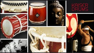KAISER DRUMS ® Trailer. Japanese Taiko-Drumming / Wadaiko-Drums / T...