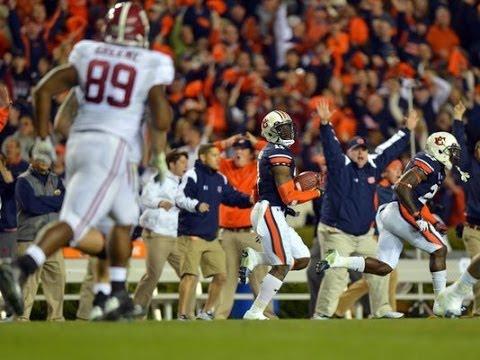 Auburn Beats Alabama.   Everyone Goes Nuts.