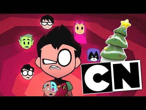 Cartoon Network Airing EVERY Teen Titans Go Episode for Christmas...