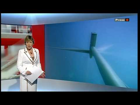 BBC Look East News Essex Frinton On Sea Offshore Wind farms Gunfleet Sands.