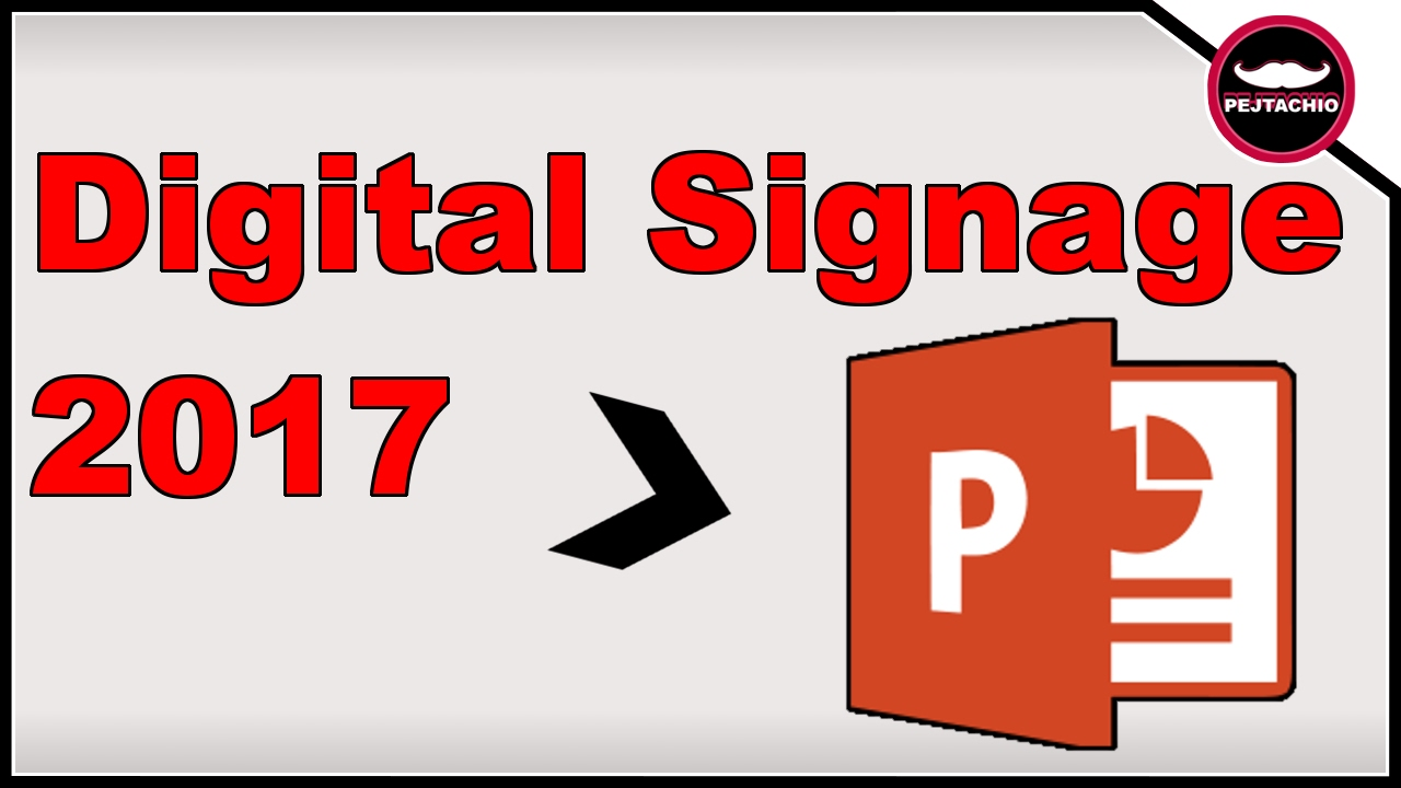 How To Use Powerpoint For Digital Signage 2017