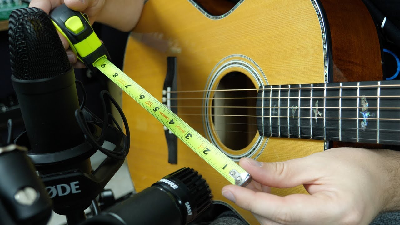 How To Mic An Acoustic Guitar Like A Pro Youtube