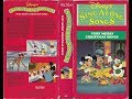 Opening and Closing to Disney's Sing Along Songs - Very Merry Christmas Songs 1988 VHS
