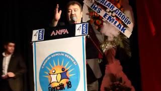 Çankırı Dernekler Federasyonu Genel Bşk Adem CAN Konuşması