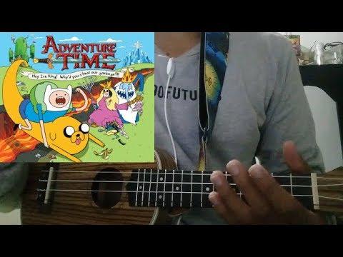 Time Adventure - Hora De Aventura - UKULELE TUTORIAL COMPLETO