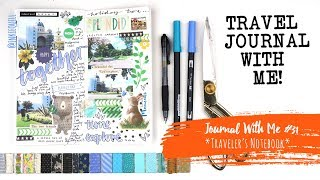 Journal With Me #31 *TRAVELER'S NOTEBOOK*