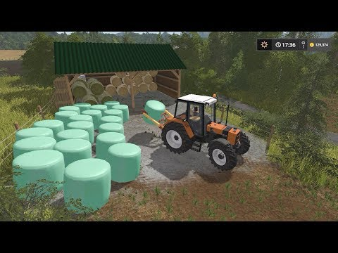 Bale wraping | Small Farm | Farming Simulator 2017 | Episode 36