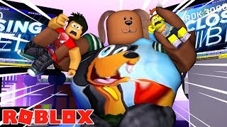 ROBLOX - EAT OR DIE - BIG HUNGRY GIANTS - w/DONUT THE DOG