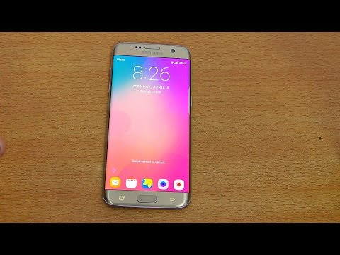 Samsung Galaxy S7 Edge Advanced TouchWiz UI - Android N Features? (4K)