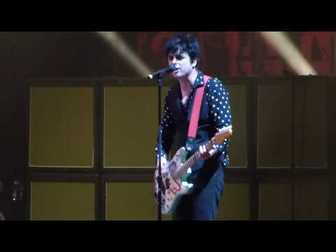 Green Day - When I Come Around @ Barclays Center, Brooklyn NY 2017