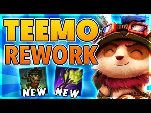 *TEEMO REWORK* STEALTH + MUSHROOMS CHANGED - BunnyFuFuu