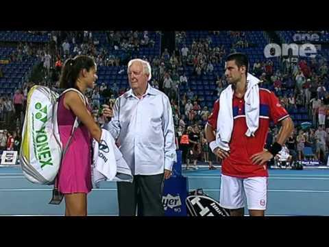 Ana Ivanovic Novak Djokovic Post Match Interview
