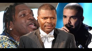 Pusha T CHALLENGES DRAKE AND J PRINCE to Drop Career Ending Diss Track He Says They Bluffing