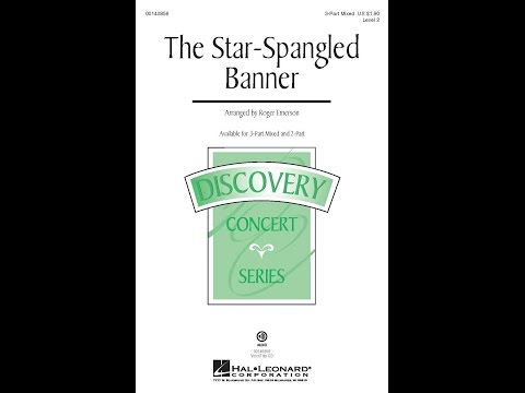 The Star-Spangled Banner - Arranged by Roger Emerson