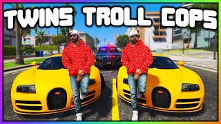 GTA 5 Roleplay - TWINS TROLL COPS | RedlineRP