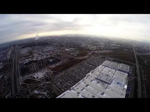 Flying in Kazan \\ DJIPhantom 2 and GoPro3