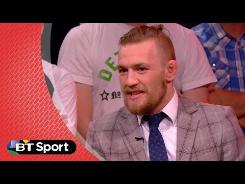 UFC189 Conor McGregor trash talking Chad Mendes | BT Sport