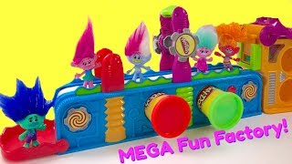 Poppy & Branch Create Shapes with Play Doh Mega Fun Factory Machine