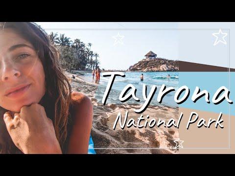 SLEEPING IN TAYRONA NATIONAL PARK 🌴🇨🇴Backpacking Colombia