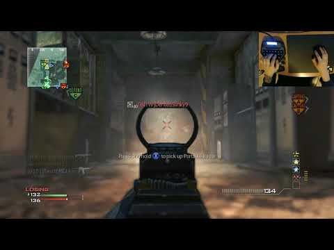 MW3 - MCLA MOAB Race! | Assault Rifles: G36C