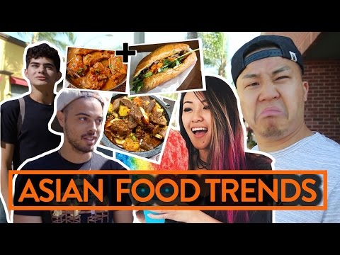 ASIAN FOOD TRENDS 2017! DO KIDS EAT TRADITIONAL ASIAN FOOD?