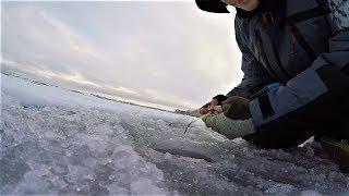 Зимняя рыбалка на Самаркандском водохранилище | Ловля на мормышку