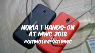 Nokia 1 Android Oreo Go Hands on, Features, Camera - MWC 2018 Coverage
