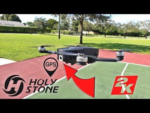HolyStone HS720 - [Under $300] - 2K Camera - 26min - Brushless - Foldable - FPV - GPS