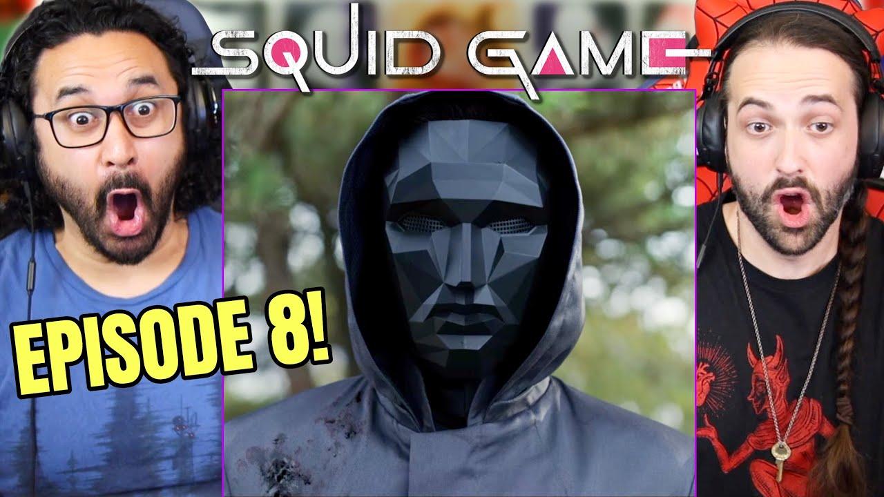 "Download SQUID GAME EPISODE 8 REACTION!! 1x8 ""The Front Man"" Spoiler Review   Breakdown   오징어게임"