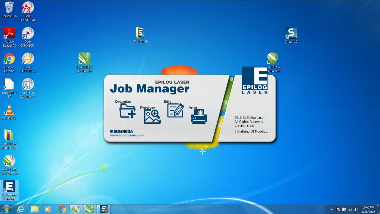 Corel draw Tips & Tricks Epilog Laser, Cut the inside of a item first with  Job Manager