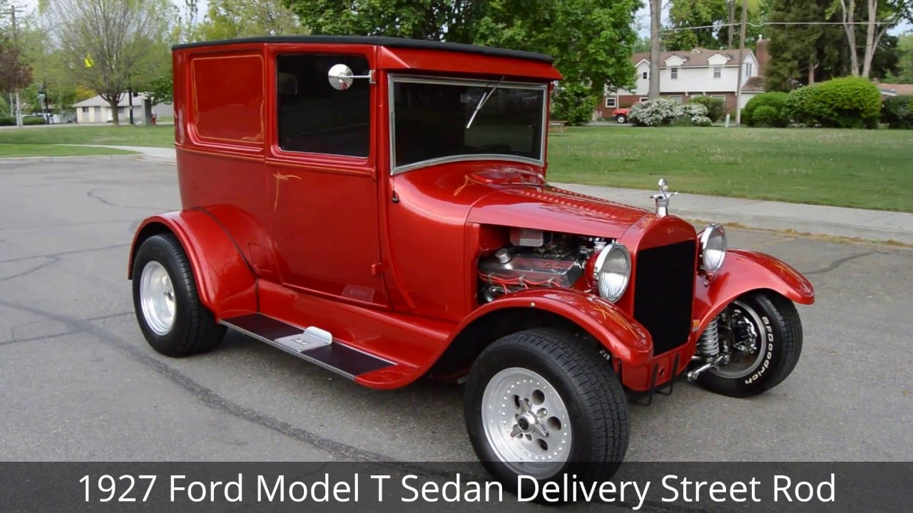 1927 Ford Model T Delivery Street Rod - Ross\'s Valley Auto Sales ...