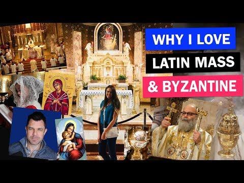 LATIN MASS + BYZANTINE CATHOLICISIM over  Novus Ordo! (And Orthodox too)