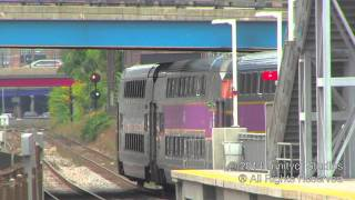 Railfanning Yawkey MBTA Station With New High Level Platforms!!