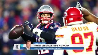 NFL Network's Daniel Jeremiah on Brady to Chargers Possibility | The Rich Eisen Show | 1/15/20