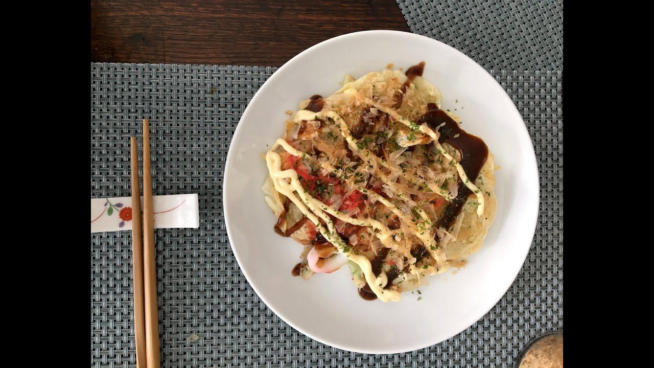 How To Make Okonomiyaki, Savory Japanese Pancakes