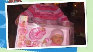 Baby Born Magic feeding Girl Doll