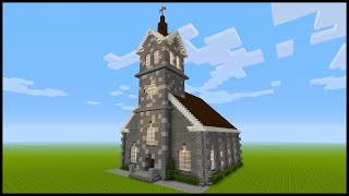 Minecraft: How to Build a Church PART 1 YouTube
